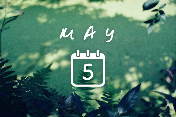 5月の結夢カレンダー