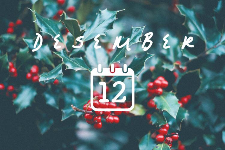 12月の結夢カレンダー