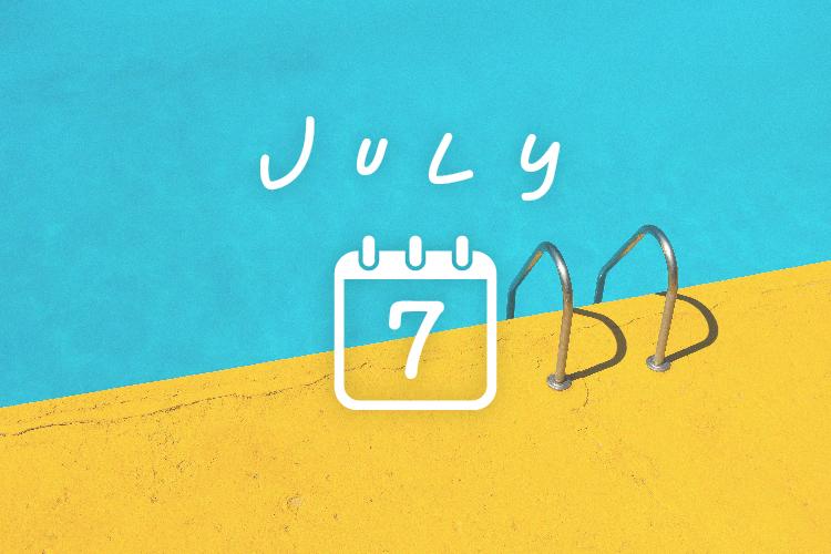 7月の結夢カレンダー
