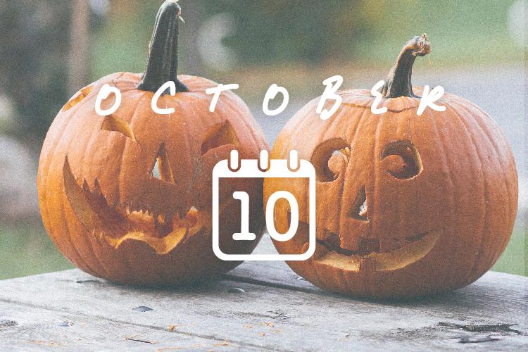 10月の結夢カレンダー