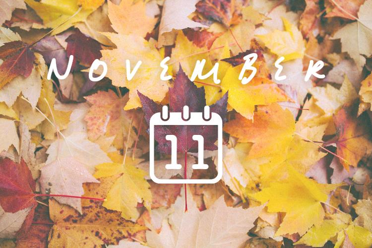 11月の結夢カレンダー